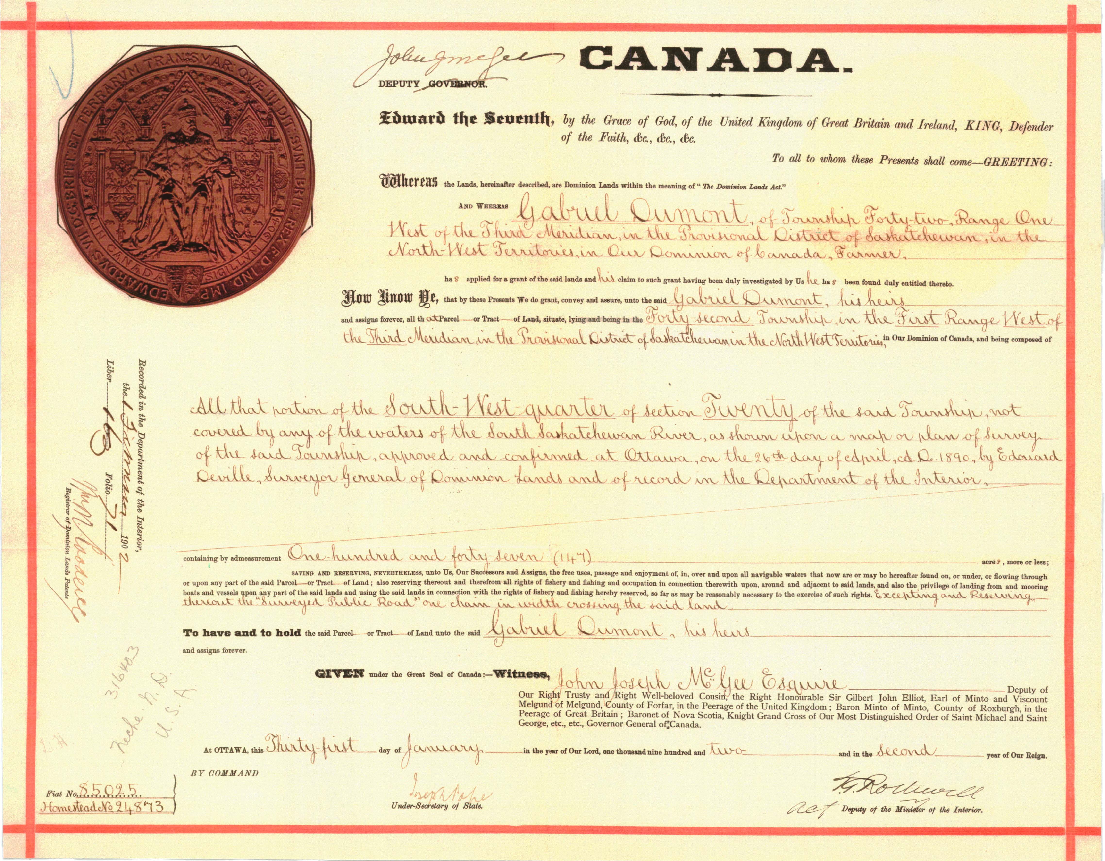 Isc grants from the greats click here to see his original land grant aiddatafo Gallery