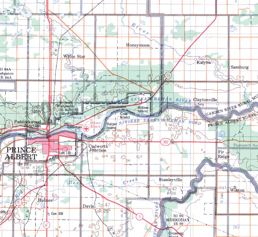 Isc Topographic Maps