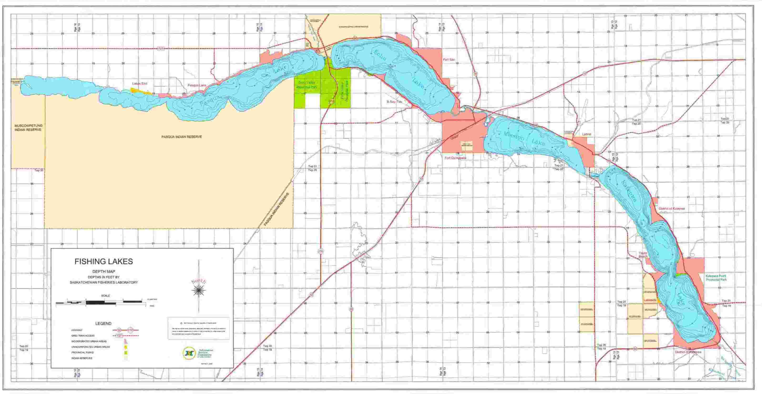 ISC - Lake, River and Hiking Maps Map Of Sask Lakes on map of saskatchewan, map of canada, ecuador rivers and lakes, duck hunting quill lakes,