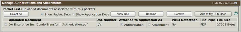ISC - How to Manage Authorizations and Attachments